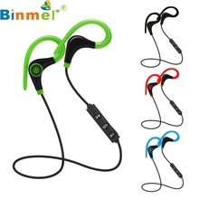 Factory Price Hot Selling Wireless Bluetooth Headset SPORT Stereo Headphone Earphone for iPhone For Samsung For LG Free Mar3