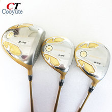 New mens Cooyute Golf clubs HONMA S-05 4star Golf wood Complete set driver with Fairway Woods Graphite Golf shaft Free shipping
