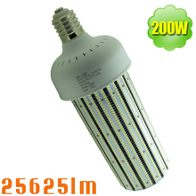 E40/E39 Screw Fitting 200 Watt LED Corn Light 1000W MH/SON Replacement 360 Degree Highbay Bulb