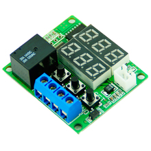 Buy Dual LED Digital Display Thermostat Temperature Controller Regulator Switch Control Relay NTC Sensor Module DC 12V for $2.52 in AliExpress store