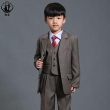 Nimble suit for boy jogging garcon boys suits for weddings costume enfant garcon mariage blazer boys blazer menino boys tuxedo(China)