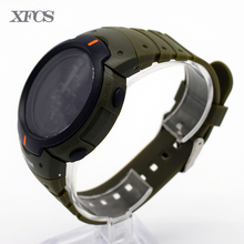 XFCS waterproof wrist digital automatic watches for men digitais watch running mens man digitales clock silicone led tt swim ots(China)