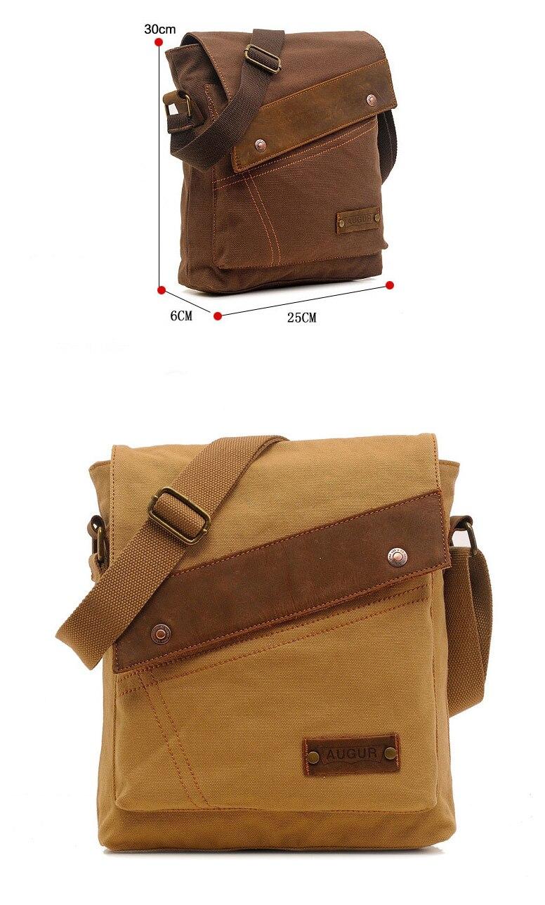 47693b2be43 Vintage Men `s Messenger Bags Canvas Shoulder Bag Fashion Men Business  Crossbody Bag Printing Travel Handbag