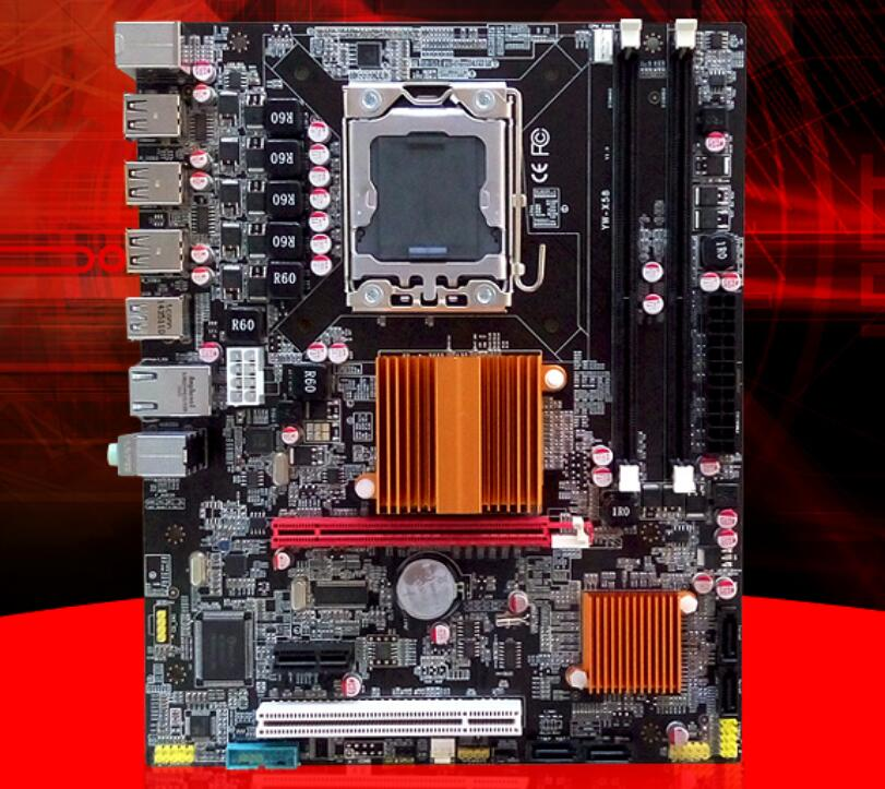 New motherboard x58 motherboard with USB3.0 port ...