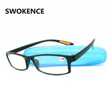 Promotion! Ultralight Toughness Anti Fatigue TR90 Unbreakable Reading Glasses Men Women High Quality Presbyopic Eyeglasses G410