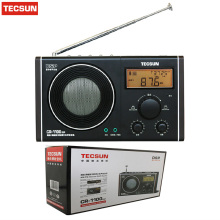 Tecsun CR-1100 DSP AM/FM Stereo Radio Portable Receiver FM Radio Digital Demodulation CR1100 Radio High Quality Drop Shipping(China)