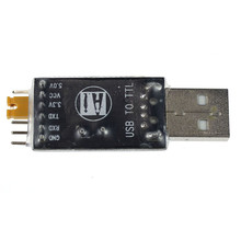 CH340 USB To RS232 TTL Auto Converter Module Serial Port FOR Arduino STC TA-02L