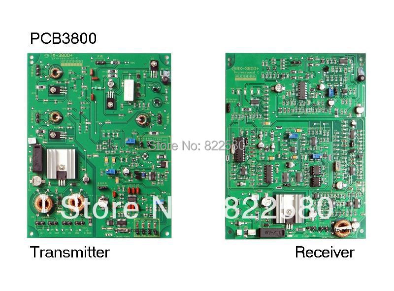 eas RF PCB boards 3800 RX+TX for eas antenna 8.2mhz<br>