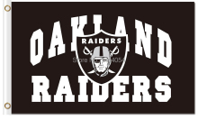 Raiders  Flag wordmark and logo  flag150X90CM Banner 100D Polyester flag brass grommets 001, free shipping