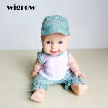 Wigrow Music Song Doll 30cm Soft Baby Model Dolls Talking Baby Toy Reborn Dolls Baby Children's Educational Toys for Kids(China)