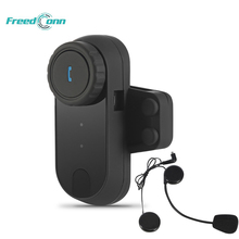 FREEDCONN TCOM 1pcs Motorcycle Communication Kit Helmet Bluetooth Headset Intercom Wireless BT Interphone for Motorbike Skiing(China)