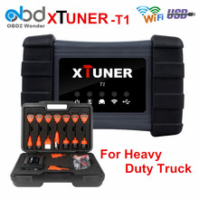Original XTUNER T1 HD Heavy Duty Diesel Truck OBD2 Diagnostic Tool For Trucks ABS Airbag DPF Engine Support Wifi USB DHL Free(China)