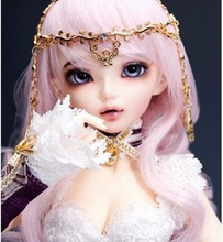 Happy Amethyst doll 1/4 bjd doll sd doll MiniFee Chloe Doll (free eyes + free make up)