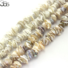 "Pearl: 10-12mm Biwa Baroque Reborn Keshi Pearl Beads Natural Pearl Loose DIY Beads For Jewelry Making Strand 15"" Free Shipping(China)"