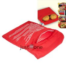 Homdox Cooker Bag Washable Baked Cooking Roast Potato Microwave Bag Kitchen Accessories Gadget N20*(China)