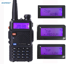 uv-5r High power version trile power baofeng 8w for two way radio VHF UHF dual band portable radio walkie talkie baofeng uv 5r(China)