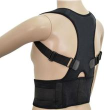 Adjustable Men And Women Magnetic Corrector Postural Lumbar Corset Brace Belts Posture Corrector Back Brace Support Corset(China)