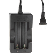 Smart KJ186-12A Li-ion Battery Charger for 18650 Batteries With LED indication(China)