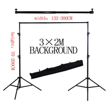 Yuguang 200*300CM Professinal photography background Backdrops Support System Stands studio with carry bag(China)