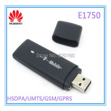 Huawei E1750 WCDMA 3G USB Wireless Modem Dongle Adapter SIM TF Card HSDPA EDGE GPRS Android System Support DHL Free Shipping