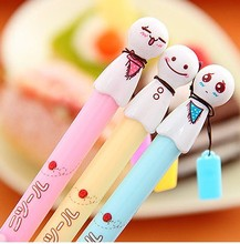 10 pcs/Lot  new Sunny doll gel pen for writing Japanese kawaii pens cute stationery papelaria Office supply school canetas