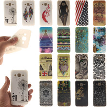 High quality For Samsung Galaxy J2 Phone Case Silicone Rubber Protective Skin Soft Gel TPU IMD Back Cover Case