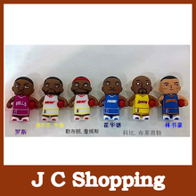 Free shipping  Kobe Bryant James  U Disk cartoon  pen drive 8GB/16GB/32GB usb flash drive flashdrive memory stick pendrive