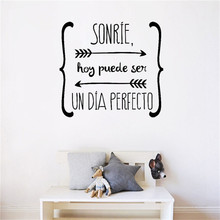 Spanish Wall DIY Stickers Quote Walls Decals Poster Art Wallpaper Kid Room Vinyl Living Room Home Decor House Decoration HOT NEW