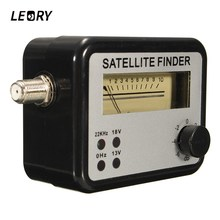 LEORY Digital Satellite Signal Finder Meter With Connector Cable For Sat Dish DIRECTV BI9