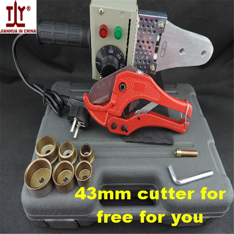 Free Shipping Plumber tool 20-32 220V/110V 600W Temperature control hot melt machine ppr pipe welding machine plastic pipe weld<br>