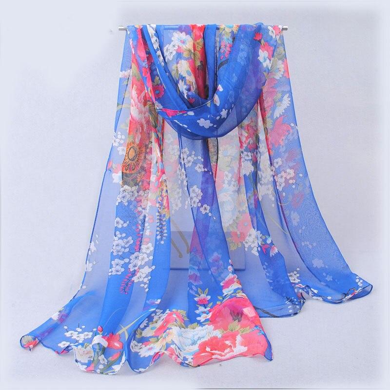 chiffon scarf 281-BL