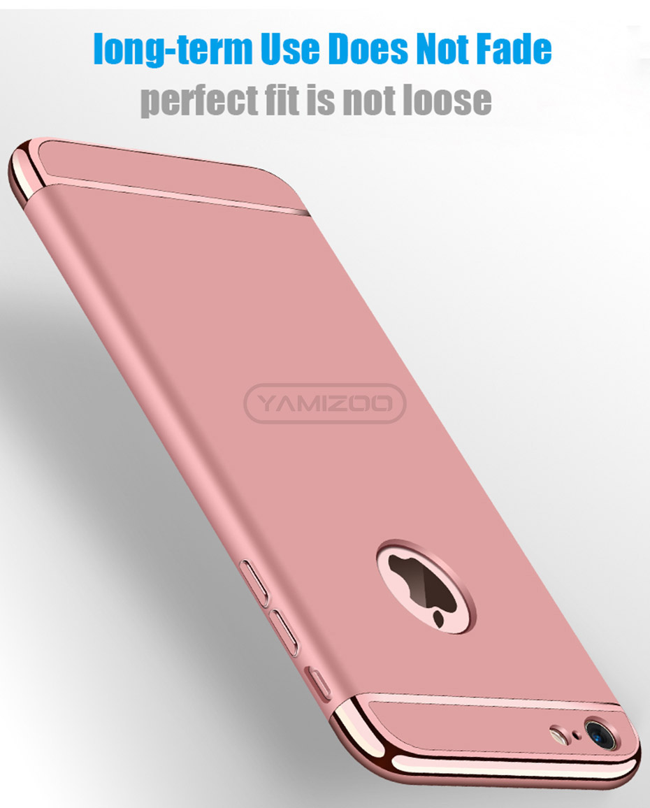 YAMIZOO 5s For iPhone se 5 Case 360 protection Phone Cases On Luxury Full Hard Plastic Coque Back Cover For iPhone 5s se 5 Case (5)