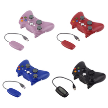 For Xbox 360 Wireless Controller 2.4G With PC Receiver Wireless Remote Gamepad For Microsoft Xbox 360 Console Joystick Controle