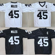 Boobie Miles 45 Friday Night Lights American Football Jerseys Throwback Stitched White Black Jersey Men S-3XL Free Shipping(China)