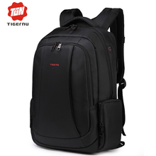 2017 Tigernu Brand 15.6 Inch Laptop Bag Backpack Men Large Capacity Nylon Compact Men's 17inch Backpacks Unisex Women Bagpack(China)