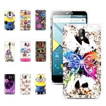 Factory price ! Blu phone case Gossly Printed TPU Soft Gel Case Back Case For Blu studio G silicon Case cover with Gift(China)