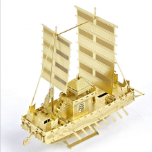 High Quality metal puzzle kids diy craft 3D Educational Jigsaw Puzzle Model Toy Battleship naval ship model battlefleet gothic