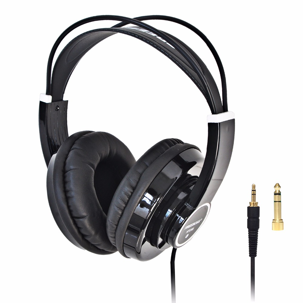 HP288 Hi-Fi Headphone Semi-Open Over-ear 3.5 6.3 plug Adjustable and Light Weight Headband HiFi Headset Headphones<br>