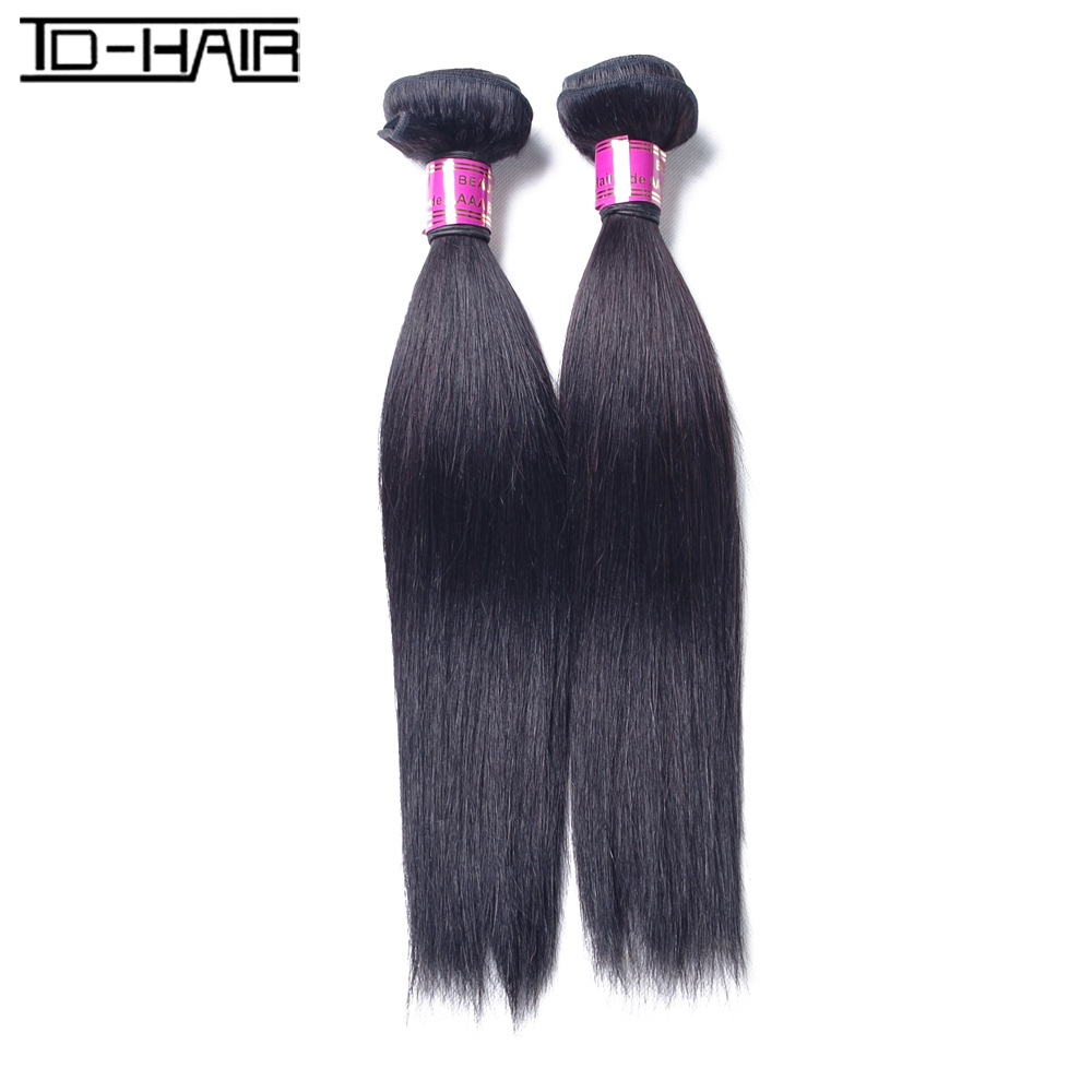 Malaysia Virgin Straight Hair Weave Bundles 9A Unprocessed Straight Human Hair  Extension TD Hair Products<br><br>Aliexpress