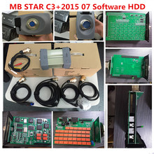 For Mercedes Benz car obd2 connector MB STAR C3(12V multiplexer mb c3 star car diagnostic tools in stock DHL Fast free shipping