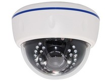 "SC-D10EF 700TVL 1/3"" Sony  CCD 4-8mm Fixed Iris Lens 30pcs infrared LEDs Night Vision Plastic Dome Camera for CCTV System"