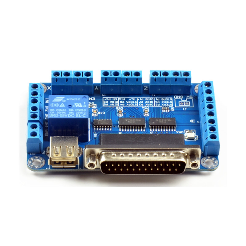 mach3 Parallet Port TO USB (5)