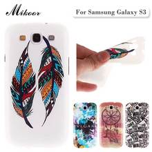 Fashion Painted Pattern TPU Silicone Soft sFor Samsung Galaxy S3 Case For Samsung Galaxy S3 I9300 Cell Phone Back Cover Case(China)