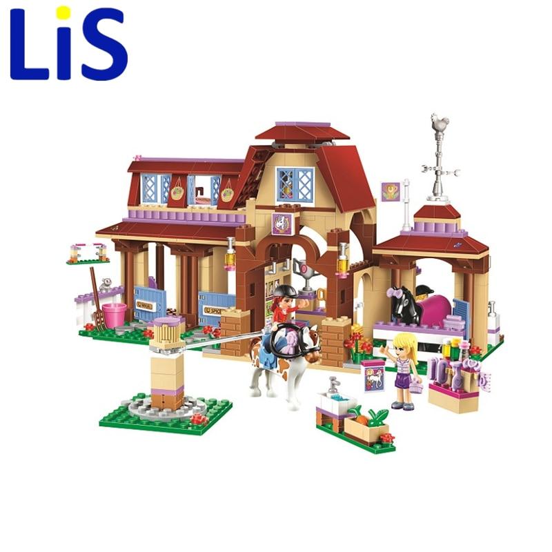 Lis 2017 BELA 10562 594Pcs Heartlake Mia House Pet Show Model Building Blocks Kit Bricks Educational Toys With Lepin<br>