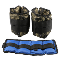 All Pro Weight Adjustable Wrist & Ankle Leg Weights, 4KG/ Pair (2 pieces)(China)