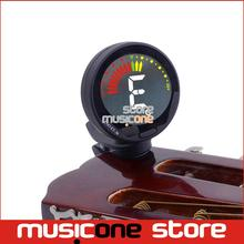 New ENO ET-39 Colour Digital LCD Guitar Bass Clip-on Automatic Chromatic Tuner Free Shipping(China)