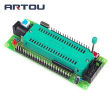 10PCS 51 AVR MCU Minimum System Board Development Board Learning Board STC Microcontroller Programmer(China)