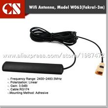 car wifi antenna,vehicle wifi antenna with Fakra I/3m cable(China)
