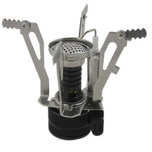 Ultra Light Outdoor Camping Gas Stove With One Piece Design With Four Corners Stove For Good Craft From China