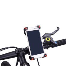 Bike Phone Holder on Mountain Bicycle Motorcycle Soporte Movil Moto Bicycle Mobile Holder for Width 3.5-7inch Phone GPS Devices